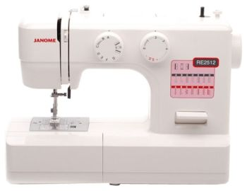 Швейная машина janome re 2512